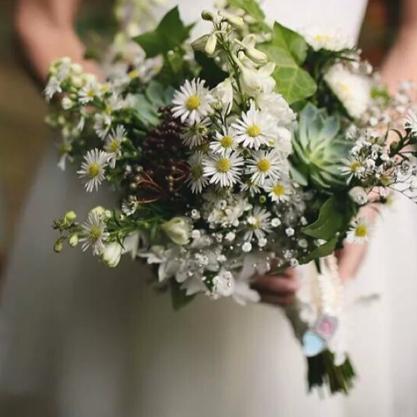 wildflower wedding bouquet