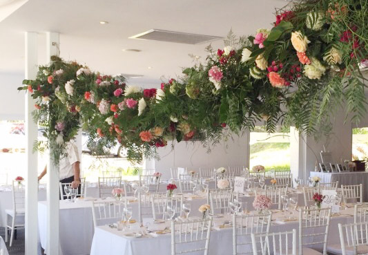 mosman wedding flowers orso bayside restaurant