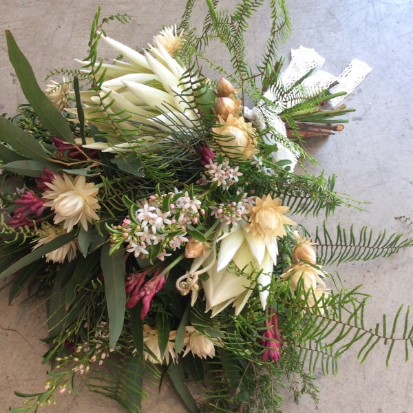 japonica native wildflower wedding