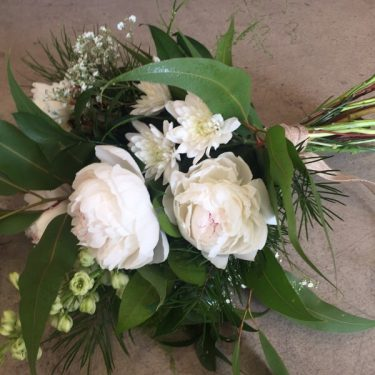 japonica botanical bouquet