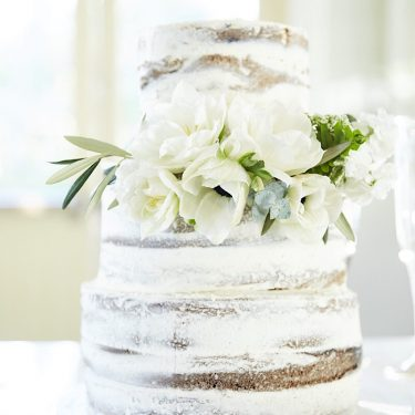 Athol hall semi naked cake