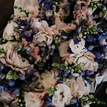 japonica summer wedding